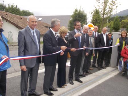Inauguration ESAT des 7 vallées à Argelès-Gazost (65)