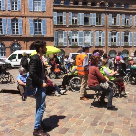 Manifestation à Toulouse du 27 mai 2015