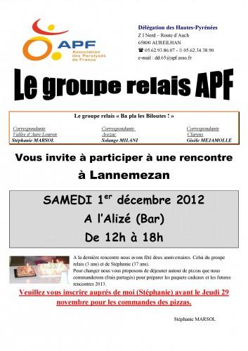 réunion du relais le samedi 1er décembre 2012 affiche grand FORMAT.jpg