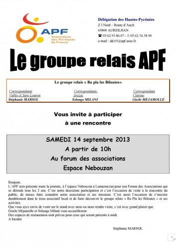 réunion du relais le samedi 14 septembre 2013 affiche grand FORMAT.jpg