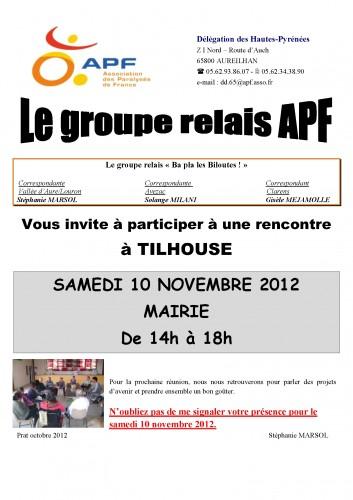 réunion du relais le samedi 10 novembre  2012 affiche grand FORMAT.jpg
